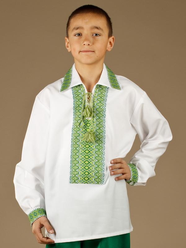 Вишита сорочка для хлопчиків ЧС 4-15.
